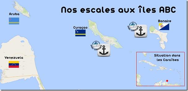 iles ABC carte générale