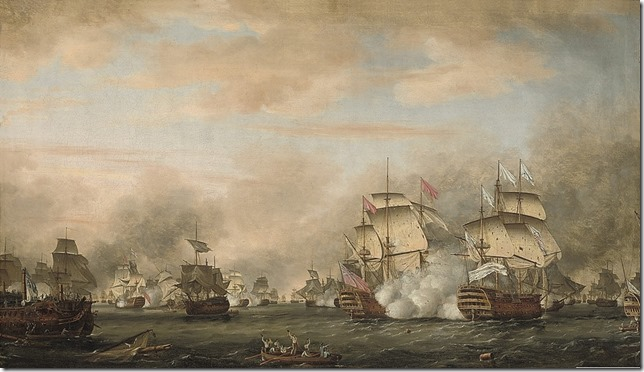 The_battle_of_the_Saints_12_avril_1782