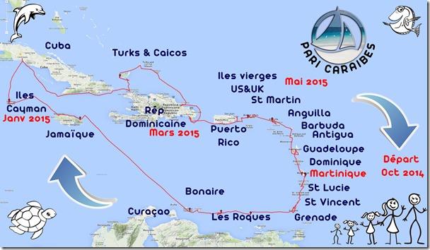 carte voyage